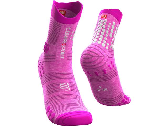 Compressport Pro Racing V3.0 Trail Calcetines, pink/melange